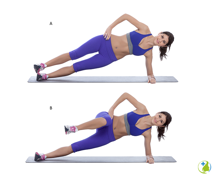 6 crucial exercises for 30 minutes per day is all you need to burn off that unwanted pooch fat. This workout involves the most effective moves that you can do to exercise your core waistline muscles. #workout #fitnessroutine #fatlossworkout